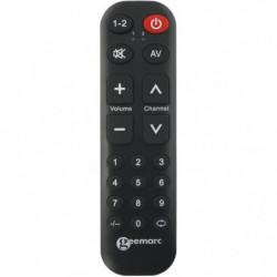 Télécommande universelle simplifiée GEEMARC TV10 - 19 touche
