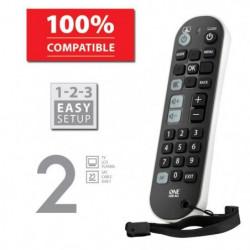 ONE FOR ALL URC6820 Télécommande universelle Zapper 2 en 1