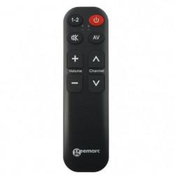 Télécommande universelle simplifiée GEEMARC TV5 - 7 touches