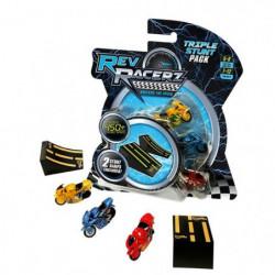 MODELCO Pack de 3 Courses moteurs Rev Racers