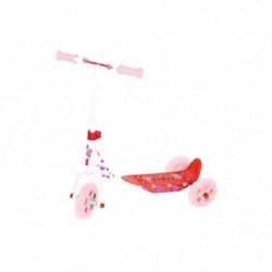 STREET TEENS Trottinette Fille Rose 3 roues