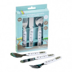 THERMOBABY Coffret couverts inox - Savane