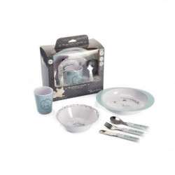 THERMOBABY Coffret vaisselle mélamine - Foret