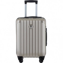 IKASE Valise Cabine Connectée Trolley Rigide Polycarbonate -
