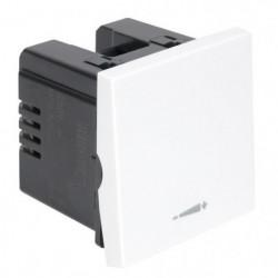 DEBFLEX CASUAL Méca Interrupteur variateur blanc brillant