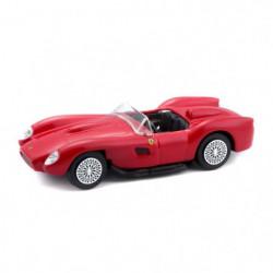 BBURAGO Voiture Ferrari Testarossa 1/43eme - Rouge