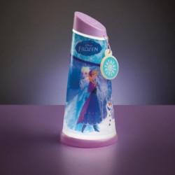 LA REINE DES NEIGES Veilleuse et Lampe Torche GoGlow - World