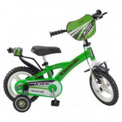 "KAWASAKI Vélo 12"" Pneus Eva - Enfant mixte - Vert"