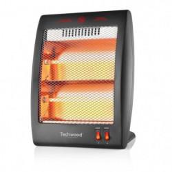 TECHWOOD 400-800 watts Chauffage Quartz - 2 Re?glages Tempe?