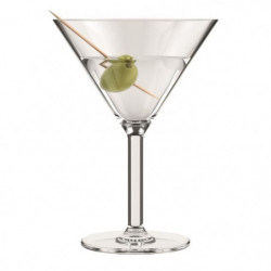 BODUM - OKTETT - 4 Verres a Martini en plastique - Incassabl