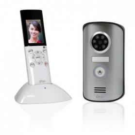 "OTIO Visiophone sans fil portatif écran LCD 2,3"""
