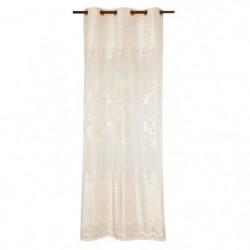 Voilage arabesques 140x250 cm beige