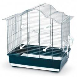 KERBL Cage a oiseaux Gabbia Sophia - 57x36x56cm - Bleu foncé
