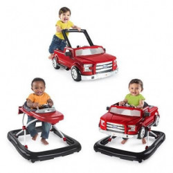 BRIGHT STARTS Trotteur 3Ways to Play?- Ford F-150 - Rouge