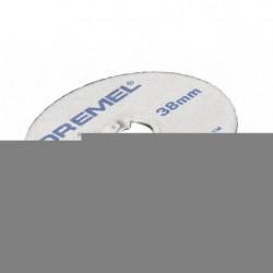 DREMEL 5 disques EZ Speedclic 38mm ép0,75mm/métaux