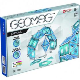 GEOMAGPRO L Jeu de Construction Magnétique 174 p