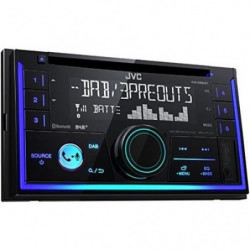 JVC Autoradio 2DIN Bluetooth DAB+ KW-DB93BT