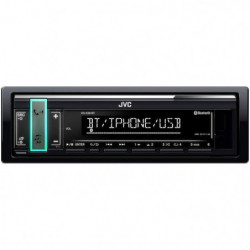 JVC Autoradio Bluetooth - USB - Iphone KD-X361BT