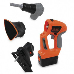SMOBY Black & Decker Visseuse Evolutive 3 en 1