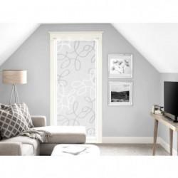 SOLEIL D'OCRE Brise bise Manon - 70x200 cm - Blanc et gris