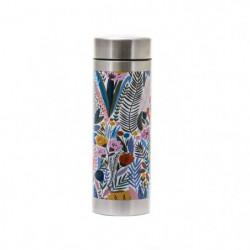 YOKO DESIGN Théiere isotherme en acier inox flower - 350 ml