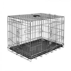 VADIGRAN Cage métallique pliable Classic - 61 x 46 x 51 cm