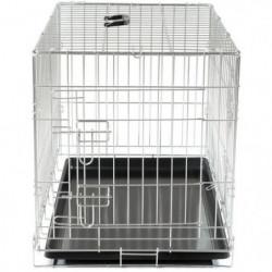 VADIGRAN Cage métallique pliable Classic - 76 x 48 x 55 cm
