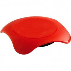 MASTRAD F04110 Chauffe-Plat micro-ondable Magma - Rouge