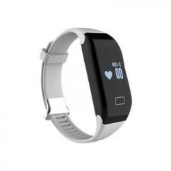 WEE'PLUG Bracelet sport connecté Bluetooth SB15 - BLANC
