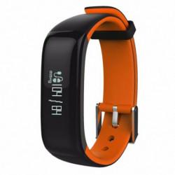 WEE'PLUG Bracelet sport connecté Bluetooth SB18 - Orange