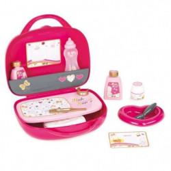 SMOBY Baby Nurse Vanity Rose + 12 Accessoires