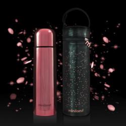 MINILAND - Deluxe thermos rose exclusif pour liquides