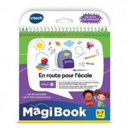 VTECH - Livre Interactif Magibook - En Route Pour L'École