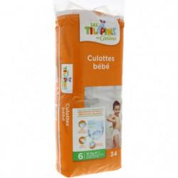 LES TILAPINS 34 Culottes Bébé Taille 6 - 16 kg et Plus Extra