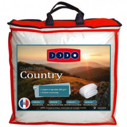 DODO Couette légere Country - 240 x 260 cm - Blanc