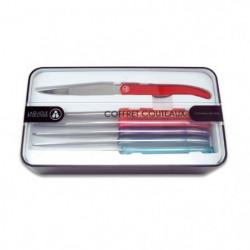 LAGUIOLE EVOLUTION Coffret 6 couteaux de table