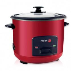 FAGOR Cuiseur a riz - FG113R  - 1.5 L - Rouge