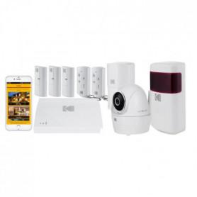 KODAK Pack Alarme maison sans fil avec caméra