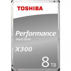TOSHIBA - Disque dur Interne - X300 - 8To - 7 200 tr/min