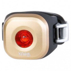 KNOG Feu arriere de vélo Mini Blinder Dot - Cuivre