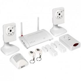 OP LINK Kit alarme maison et surveillance connecté