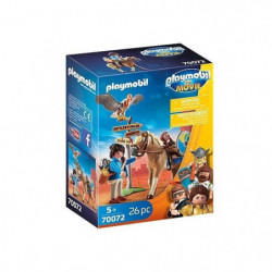 PLAYMOBIL 70072 - PLAYMOBIL THE MOVIE Marla avec cheval