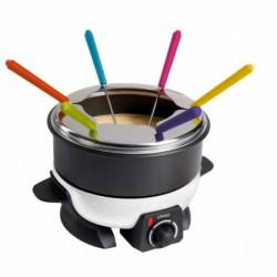 LIVOO  DOC106 Appareil a fondue - Blanc et Noir