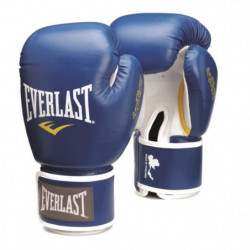 EVERLAST Gants de boxe Thai - Bleu - 10 Oz