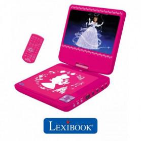 LEXIBOOK - DISNEY PRINCESSES - Lecteur DVD portable