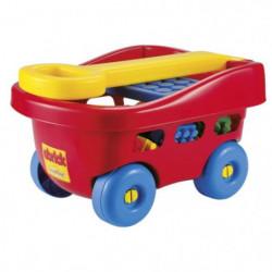 ABRICK Chariot a Tirer 40 pcs