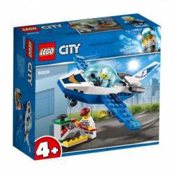 LEGO 4+ City 60206 Le jet de patrouille de la police