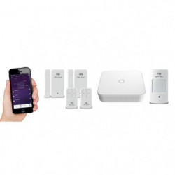 NEW DEAL Pack Alarme maison WIFI / LAN / GSM Live Pro-L15