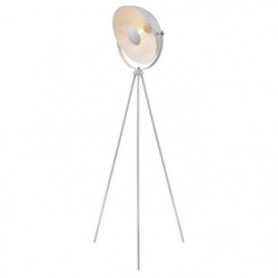 MOVIE Lampadaire trépied - H 148 cm - Tete : Ø 35 cm - Blanc
