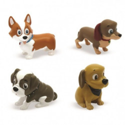 CHIOTS ADORABLES Mini comptines et Figurines